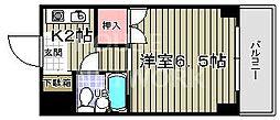 みのるマンション[410号室号室]の間取り