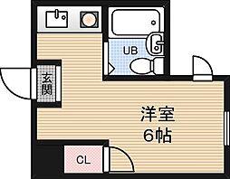 アメニティー新大阪1番館[1階]の間取り