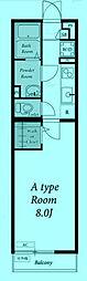 パークブランたまプラーザ[3階]の間取り