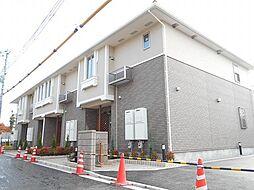 滋賀県東近江市建部堺町の賃貸アパートの外観
