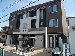 大阪府東大阪市稲葉3丁目の賃貸アパートの外観