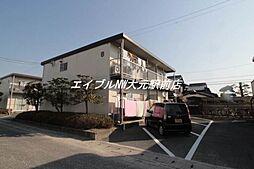 岡山県岡山市南区芳泉3丁目の賃貸アパートの外観