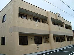 山口県宇部市居能町3丁目の賃貸アパートの外観