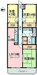 セントラルパレス15[1階]の間取り