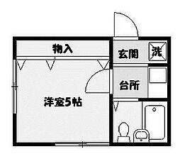 メゾン藤田[2階]の間取り