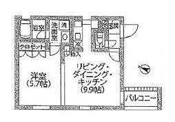 Meguro Point[2階]の間取り