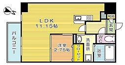 Studie飛幡(スタディ飛幡)[2階]の間取り