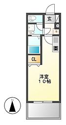 KDXレジデンス神宮前[7階]の間取り