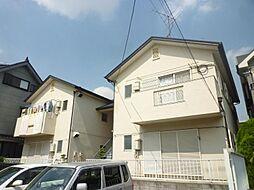 第二弥藤コーポ[1階]の外観