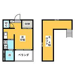i・Room[1階]の間取り