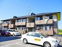 奈良県奈良市杏町の賃貸アパートの外観
