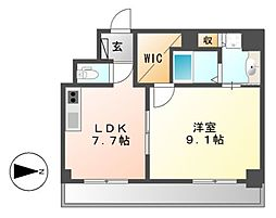 Casoneasso(カゾーネアッソ)[10階]の間取り
