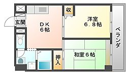 ハミングマンション[301号室]の間取り