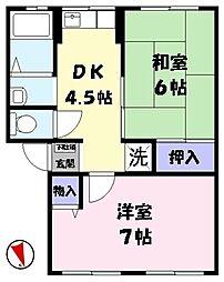 鳥取県米子市美吉 [タウンハウス] の間取り