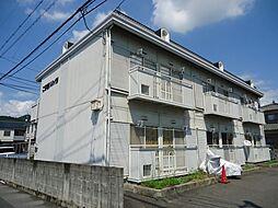 広島県福山市西深津町2丁目の賃貸アパートの外観