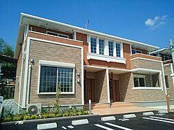 福岡県久留米市藤光町の賃貸アパートの外観