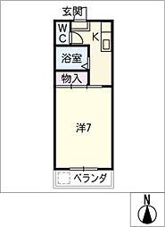 マイハウスあつみ[3階]の間取り