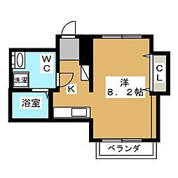 プリモフィオーレ室町[7階]の間取り