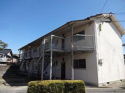 コーポ富田[1階]の外観