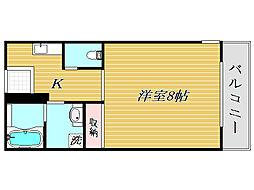 フローレ南長崎[2階]の間取り