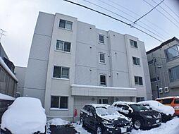 北海道札幌市中央区宮の森三条7丁目の賃貸マンションの外観