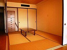 新設された和室部分。