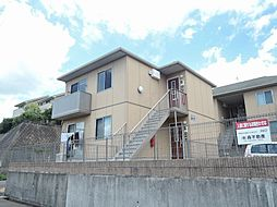 福岡県北九州市八幡西区千代2丁目の賃貸アパートの外観