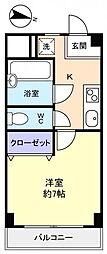 壱番館習志野台[3階]の間取り