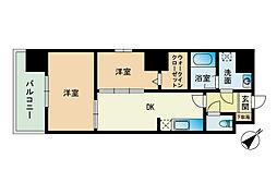 モダンパラッツォ博多駅南II[10階]の間取り