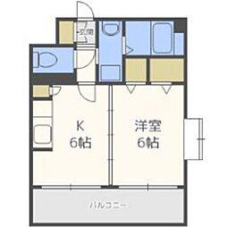 福岡県福岡市東区松島4丁目の賃貸マンションの間取り