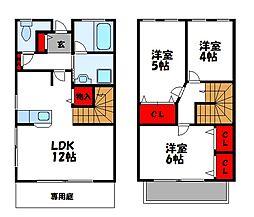アパルトメントカーディフ[2階]の間取り