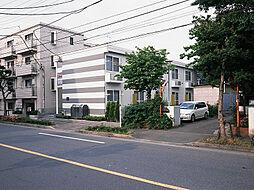 東京都福生市南田園1丁目の賃貸アパートの外観