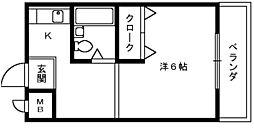 昭和ハイツ[4階]の間取り