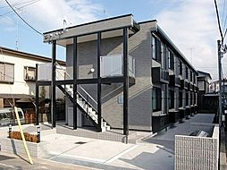 東京都八王子市子安町3丁目の賃貸アパートの外観