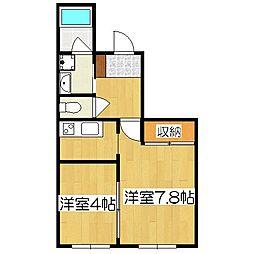 新町六角館[3階]の間取り