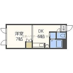 北海道札幌市北区北十五条西2丁目の賃貸マンションの間取り