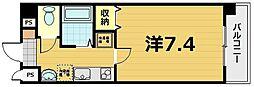 京都府京都市南区唐橋堂ノ前町の賃貸マンションの間取り