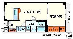 サバービア581[2階]の間取り