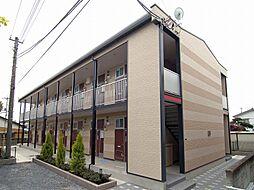 埼玉県さいたま市岩槻区愛宕町の賃貸アパートの外観