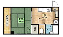 児島ビルディング[202号室]の間取り