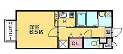ミルキーウェイ[2階]の間取り