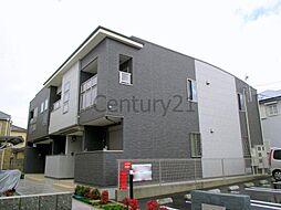 兵庫県川西市錦松台の賃貸アパートの外観