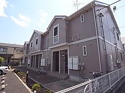 千葉県松戸市小金原1丁目の賃貸アパートの外観