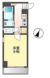 シャトレ上小田井[2階]の間取り