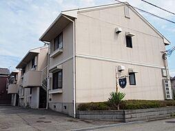 兵庫県姫路市飾磨区中野田3の賃貸アパートの外観