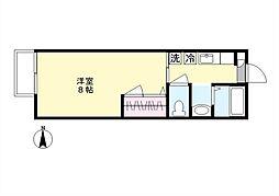 リバティーベル[2階]の間取り
