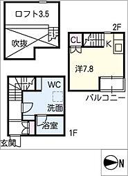 LE COCON 豊田 A棟[2階]の間取り
