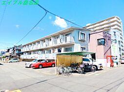 三重県桑名市今北町の賃貸アパートの外観