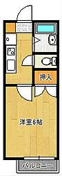 ロイヤルプラザ[2階]の間取り
