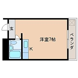 静岡県静岡市駿河区手越原の賃貸マンションの間取り